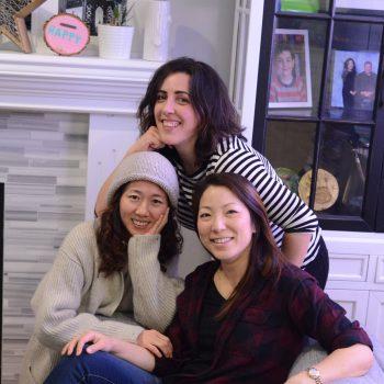 Ammanda, Elaine & Sohee